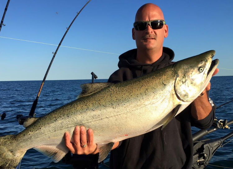 Lake Ontario Salmon fishing charter